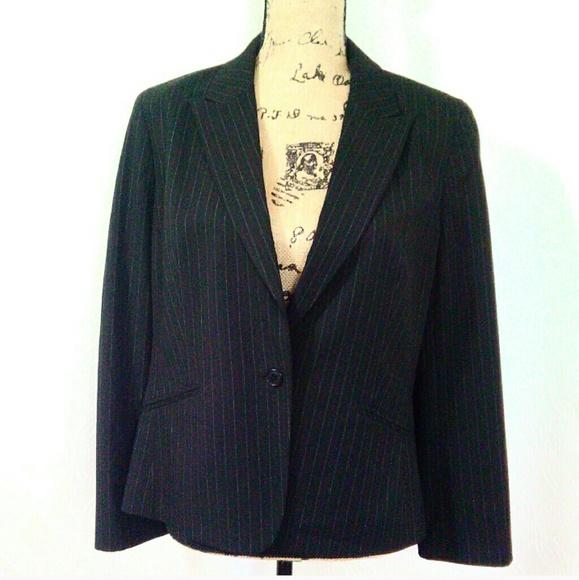 LOFT Jackets & Blazers - Ann Taylor Loft Pin Stripe Jacket 12P